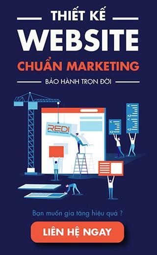Thiết kế website chuyên nghiệp - Chuẩn Marketing - Advertising - Sales