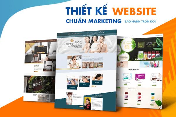 Thiết kế website chuẩn Marketing