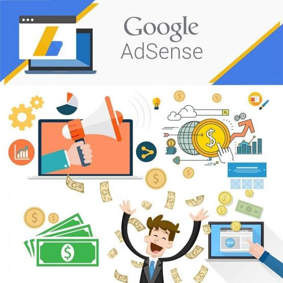 cách kiếm tiền trên mạng với Google Adsense