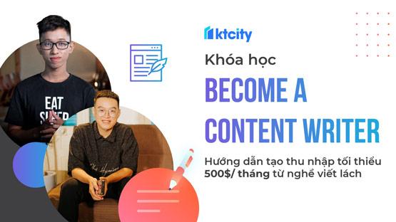 Khóa học Content Writer chuyên nghiệp