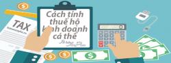 Các loại thuế mà hộ kinh doanh cá thể phải nộp cho nhà nước
