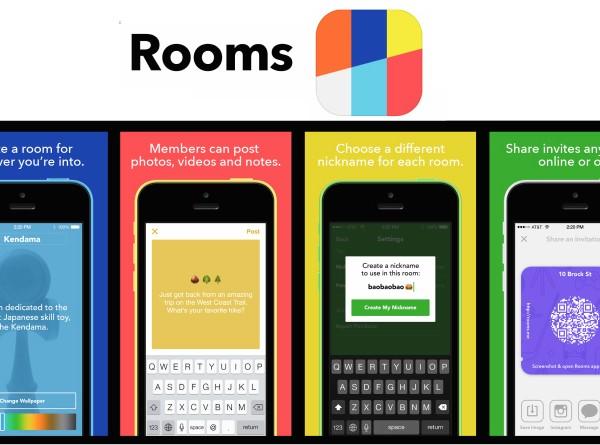 Ứng dụng trò chuyện Rooms mới trình làng của Facebook