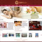 thiết kế web thẩm mỹ viện, thiết kế web spa