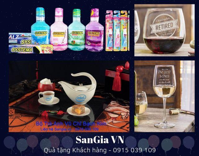 Quà tặng khách hàng Sangia VN
